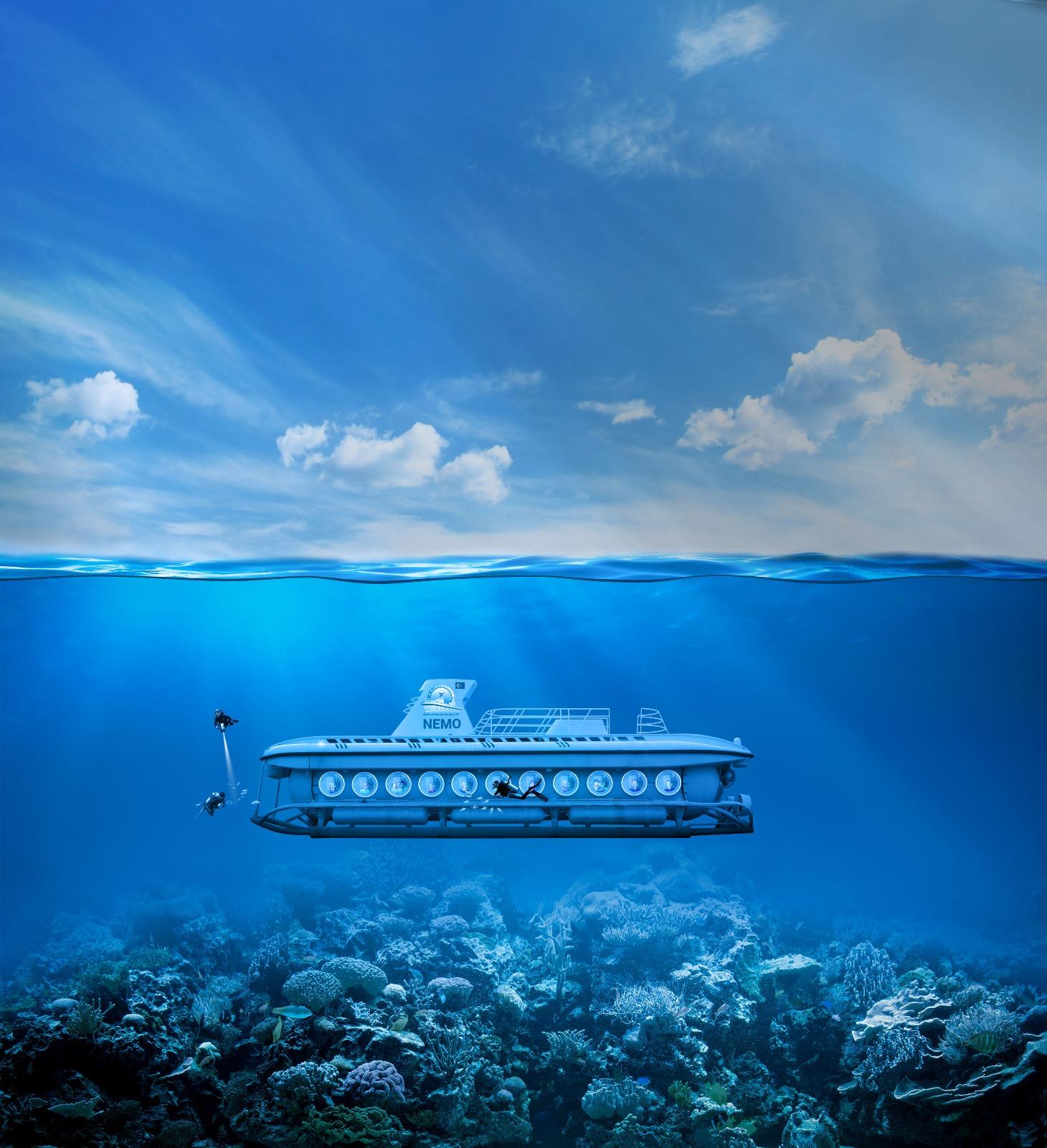 Nemo Denizaltı&Konyaaltı Teleferik Turu